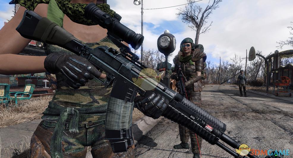 《辐射4》AN94突击步枪MOD