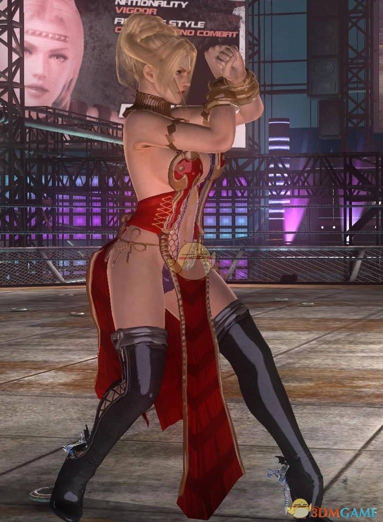 《死或生5:最后一战》Rachel红色性感服装MOD