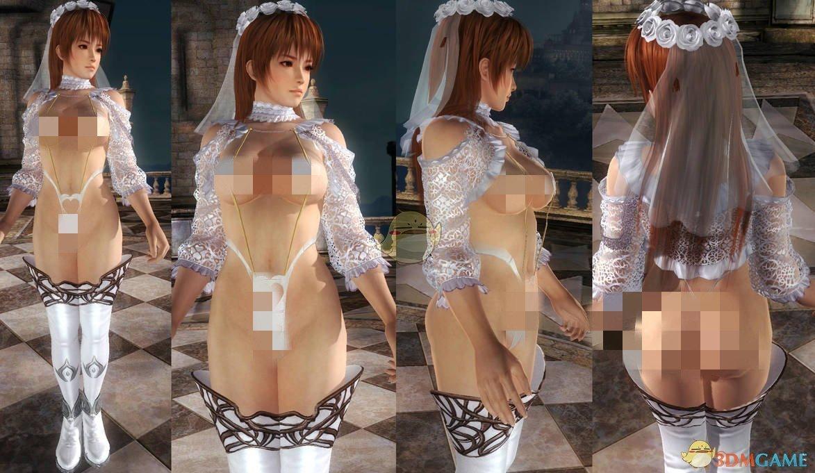 《死或生5:最后一战》Phase4白色三点式婚纱MOD