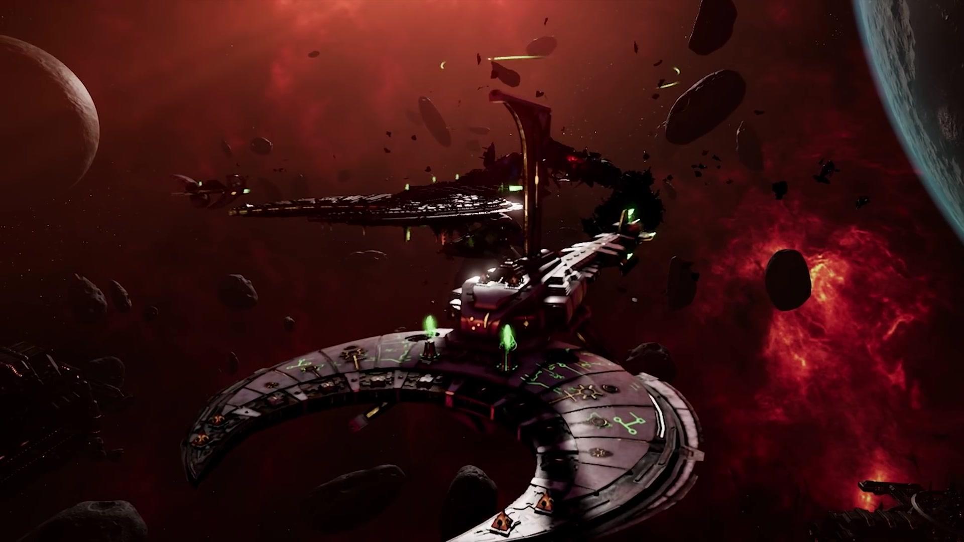 《哥特舰队:阿玛达2》新宣传片 战役流程超100小时