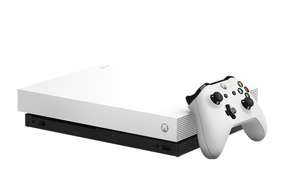 <b>国行Xbox One X冰雪白及渐变金特别版披露 正式开售</b>