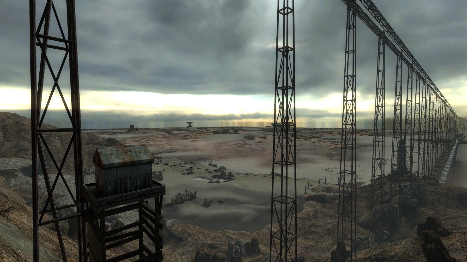 《半条命2》新MOD视频及截图 还原早期概念版游戏