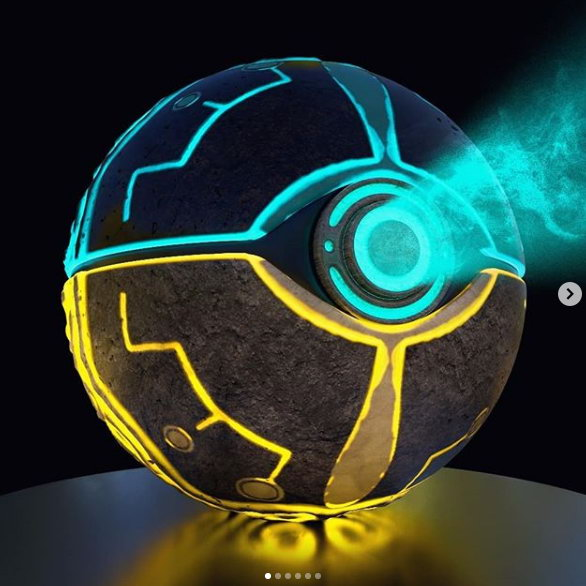 大神用3D技术打造《荒野之息》风格精灵球 十分炫酷