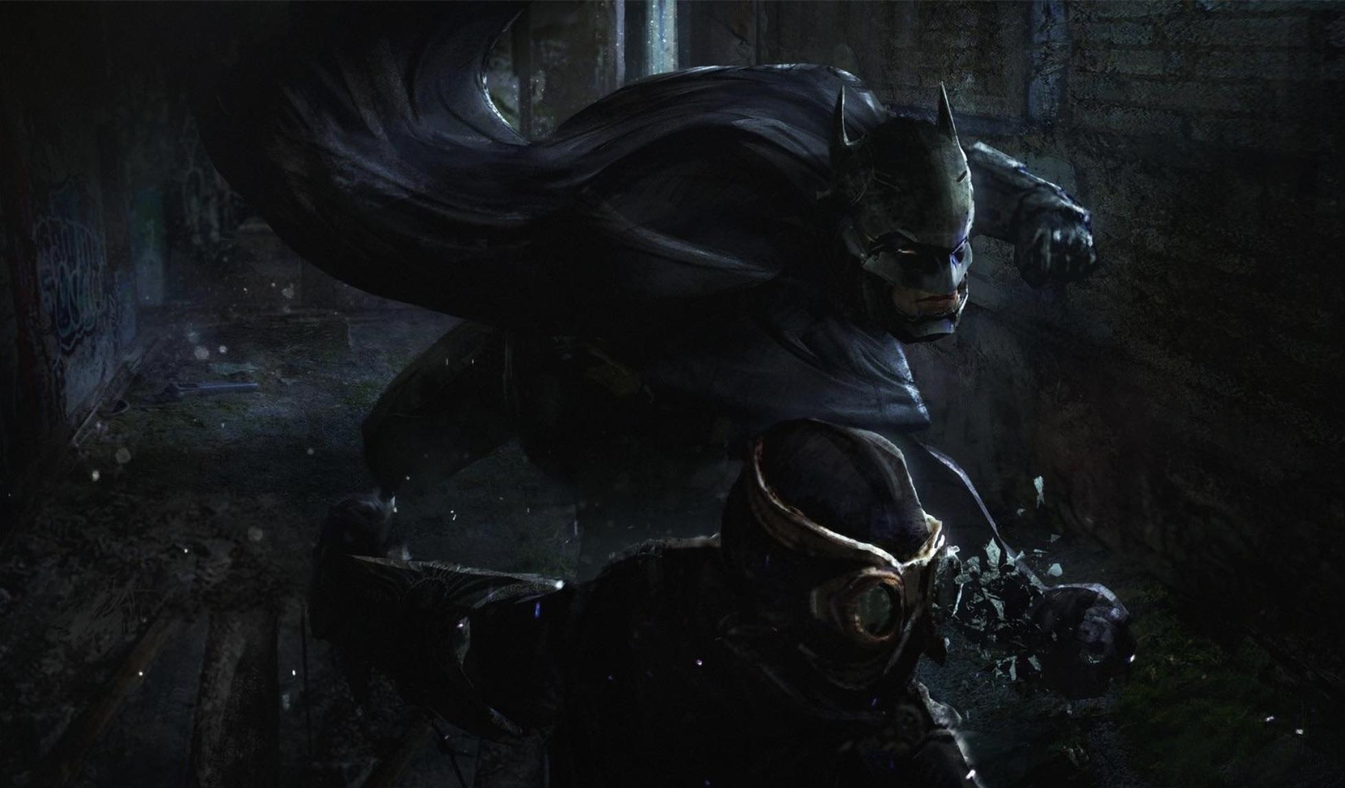 蝙蝠侠新作 《蝙蝠侠:猫头鹰法庭》 概念原画疑似曝光