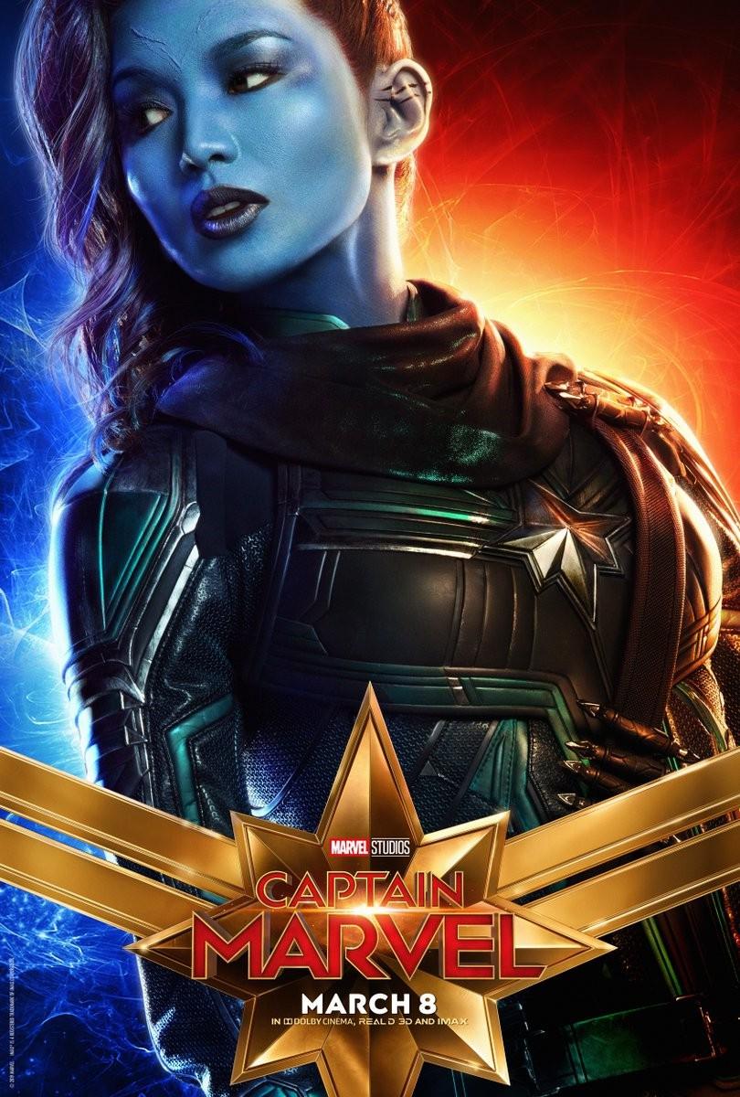 《惊奇队长》角色海报公布 惊奇队长和喵星人等登场