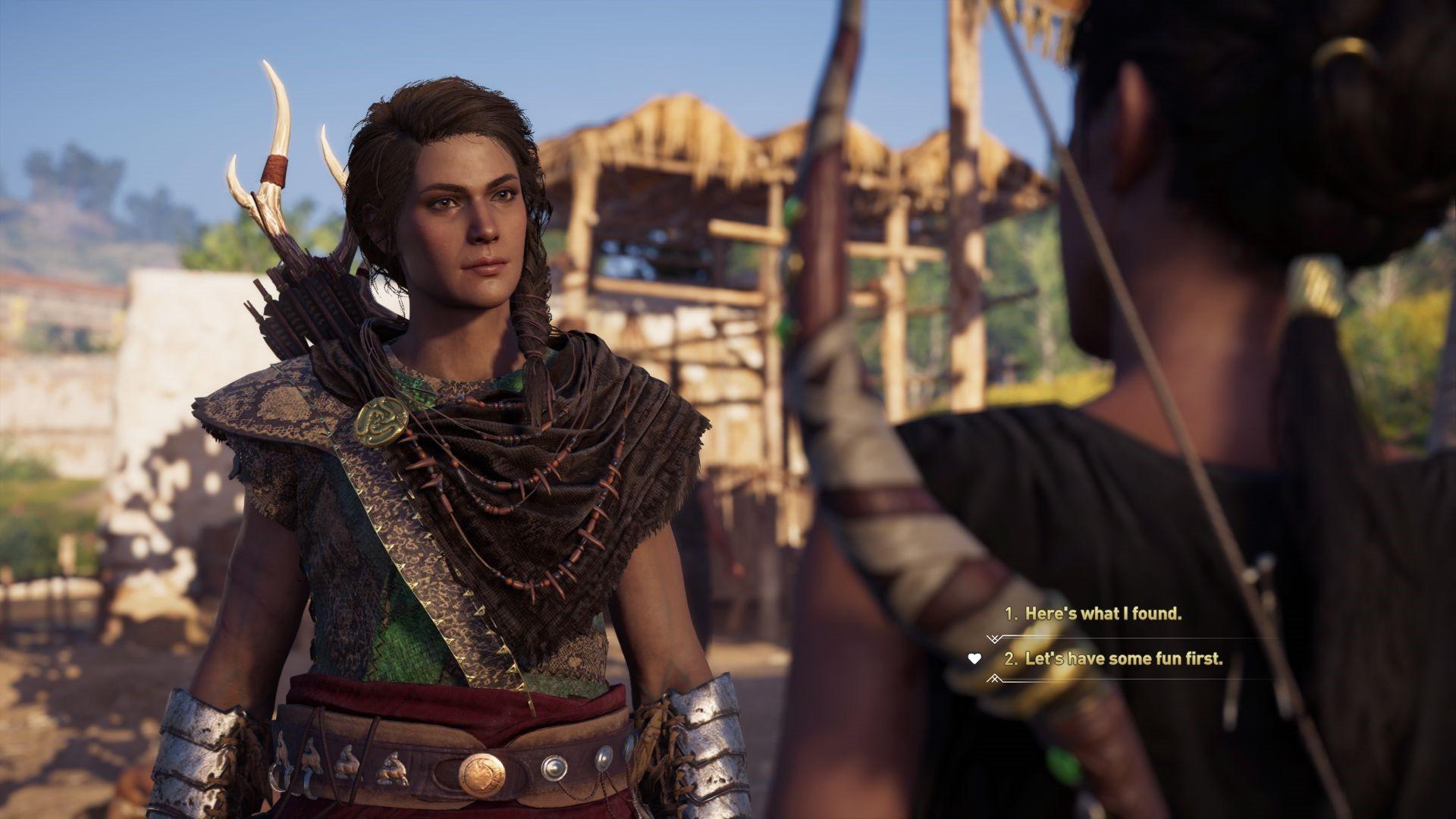 《刺客信条:奥德赛》更新发布 DLC争议结局被修改