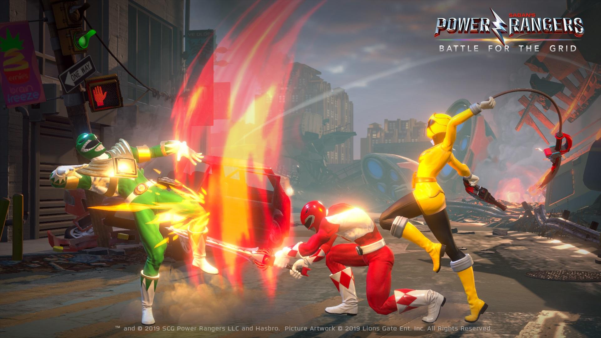 25周年纪念之作格斗游戏《超凡战队》4月跨平台上市