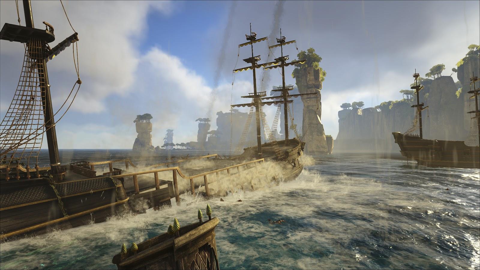 《Atlas》玩家黑入管理员帐号 鲸鱼和坦克从天而降