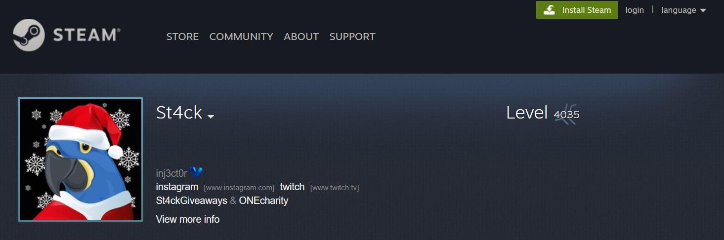 土豪花30万美元成为Steam第一位4000级玩家