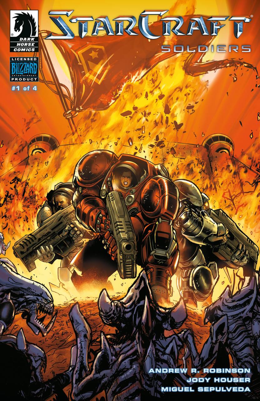 黑马漫画将对 《星际争霸》 的漫画世界进行再度扩展