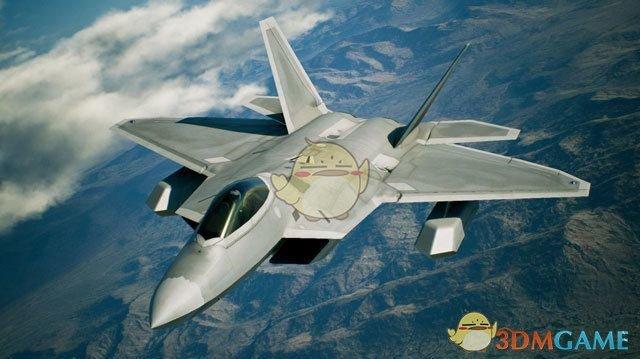 《皇牌空戰7:未知空域》F-22A Raptor機體性能圖鑒