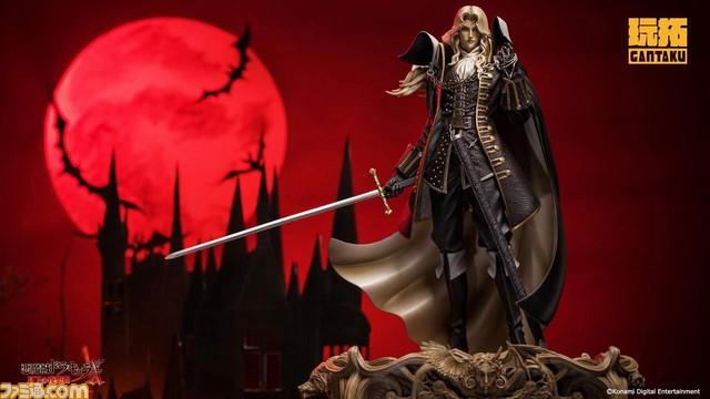 《恶魔城X:月下夜想曲》阿鲁卡多雕像 造型逼真!