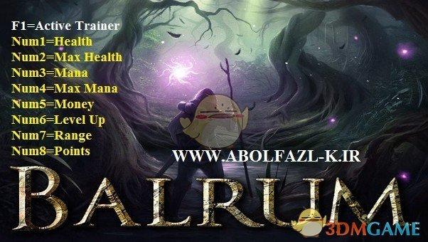 Balrum v1.6八项修改器[Abolfazl]