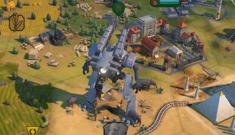 巨型死亡机器人回归《文明6》 造型霸气能力超群