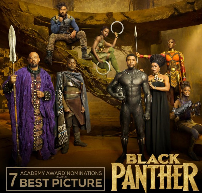 《黑豹》入围创超级英雄电影历史 第91届奥斯卡提名名单