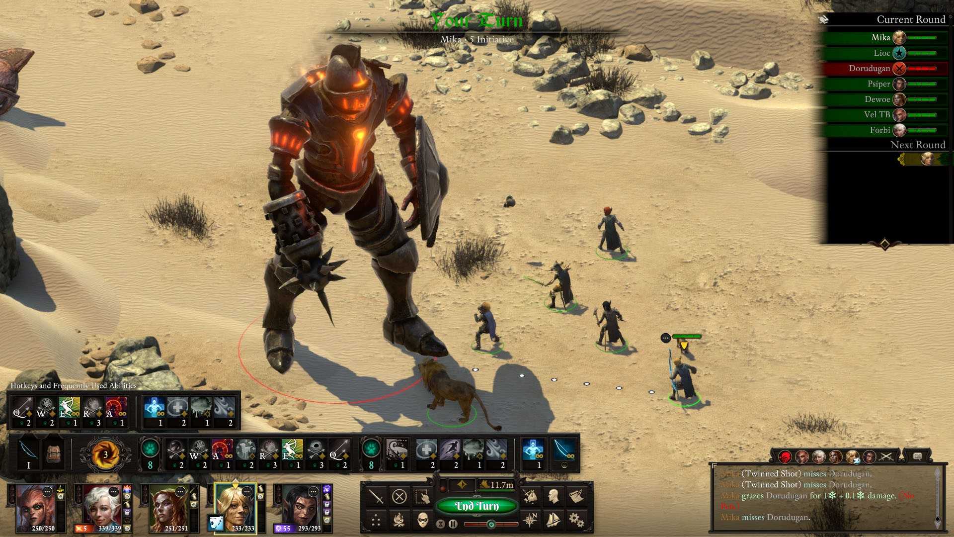 《永恒之柱2》将加入回合制战斗模式 游戏策略性大增