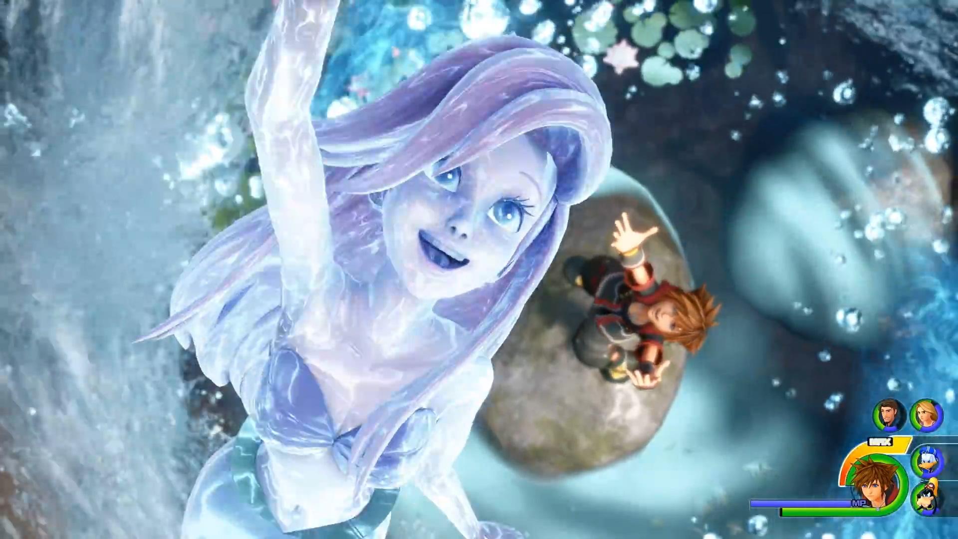 《王国之心3》玩法介绍视频 迪士尼世界让人目不暇接