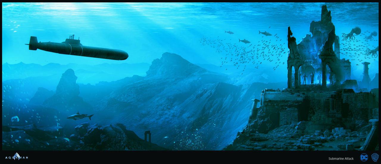 史诗气质!《海王》海量概念图曝光
