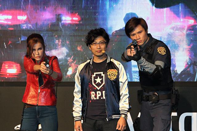 《生化危机2:重制版》制作人赴台北电玩展亲自示范游戏