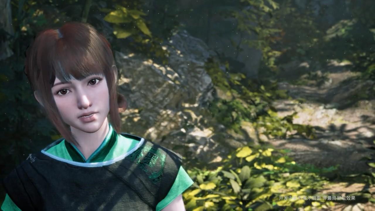 国产大作《轩辕剑7》实机演示视频 神秘少女亮相