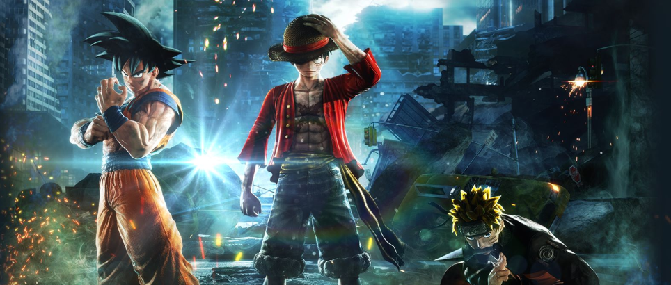 尾岸鸟三巨头同框 索尼推出《Jump大乱斗》限定PS4精美刻印外壳