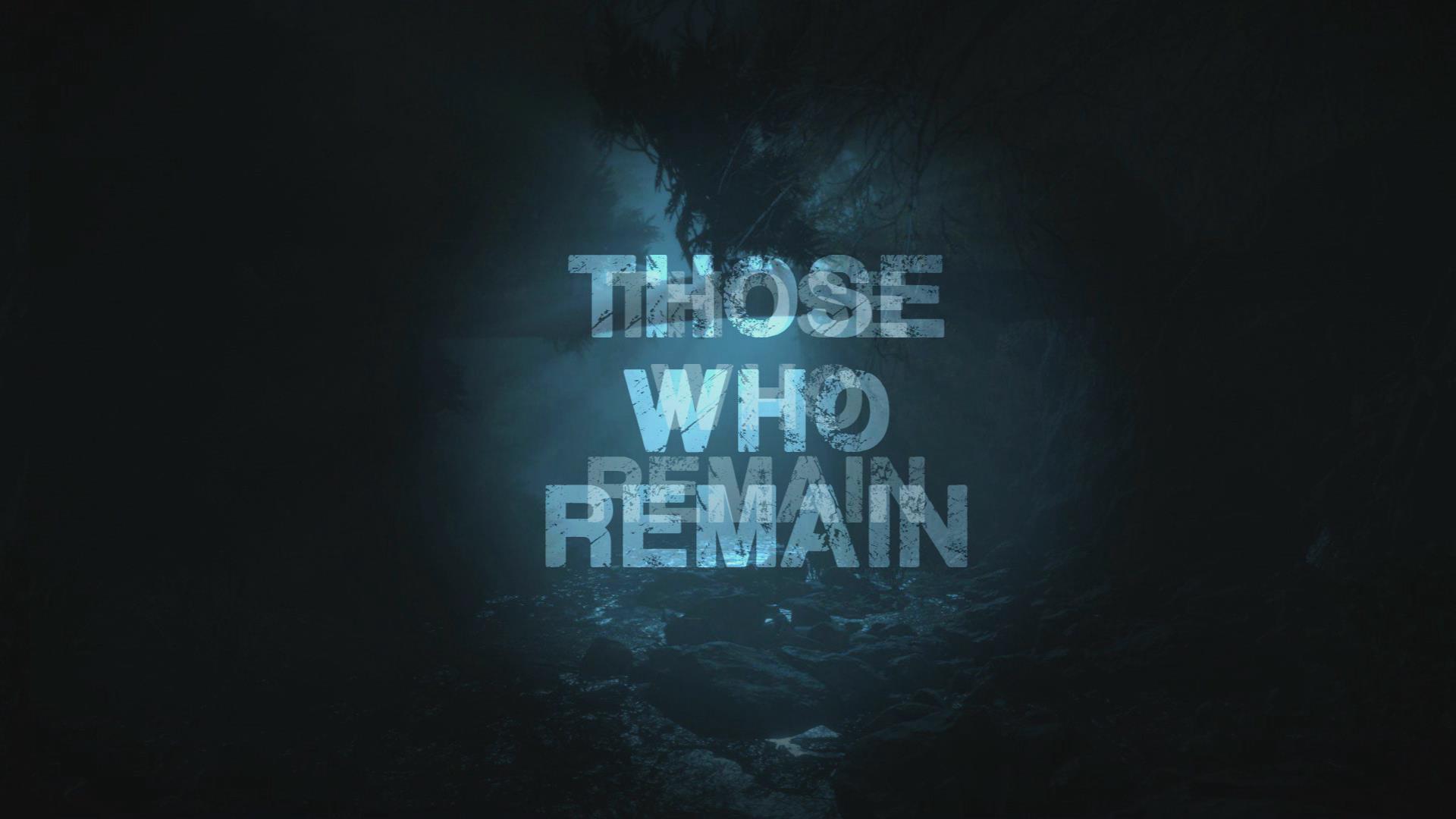 心理恐怖游戏《遗留之人》发布中文配音宣传片