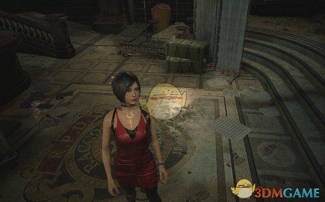 《生化危机2:重制版》艾达王替换克莱尔纯黑服装MOD