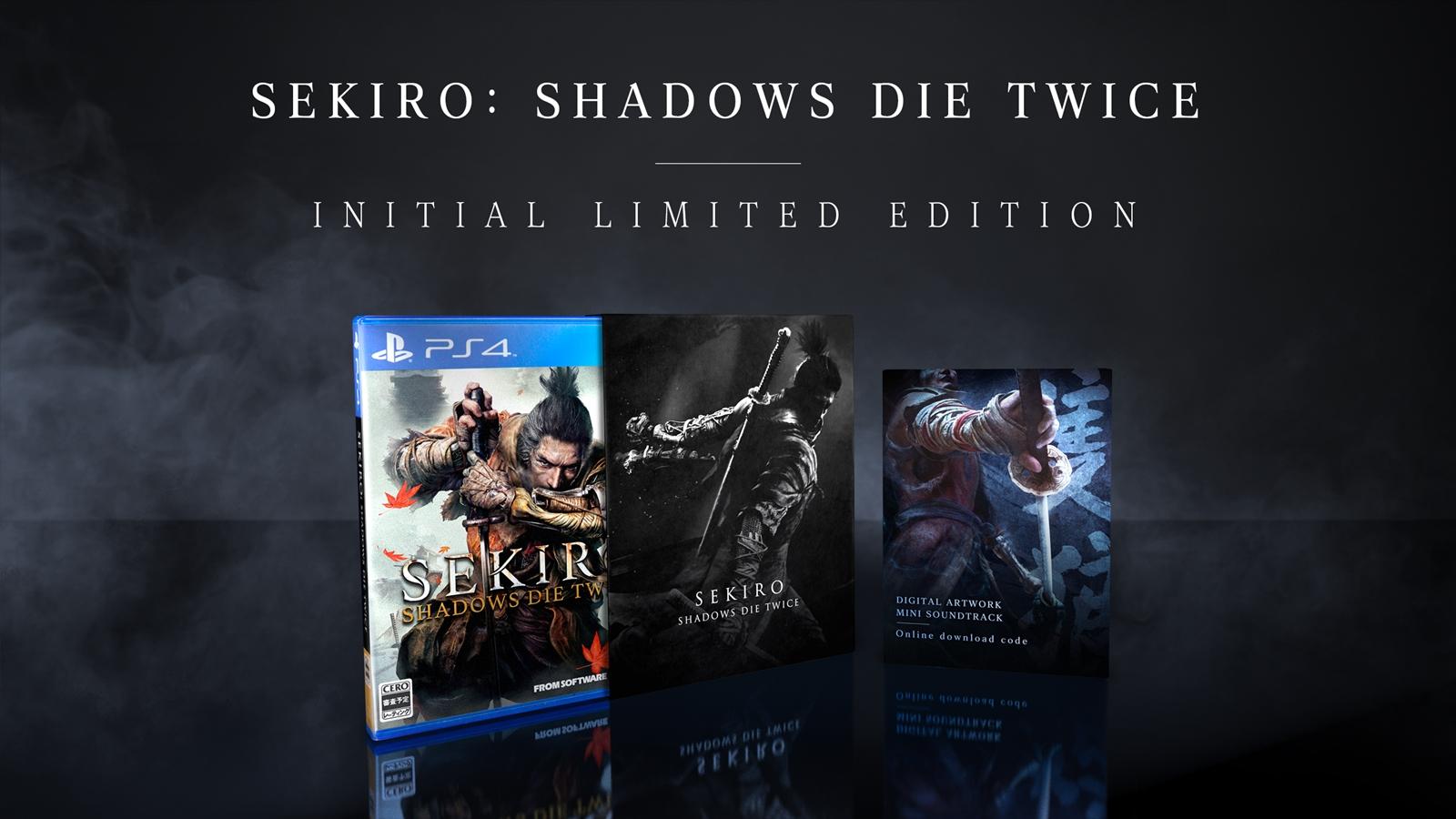 《只狼:影逝二度》预购特典和玩家收藏版内容公布