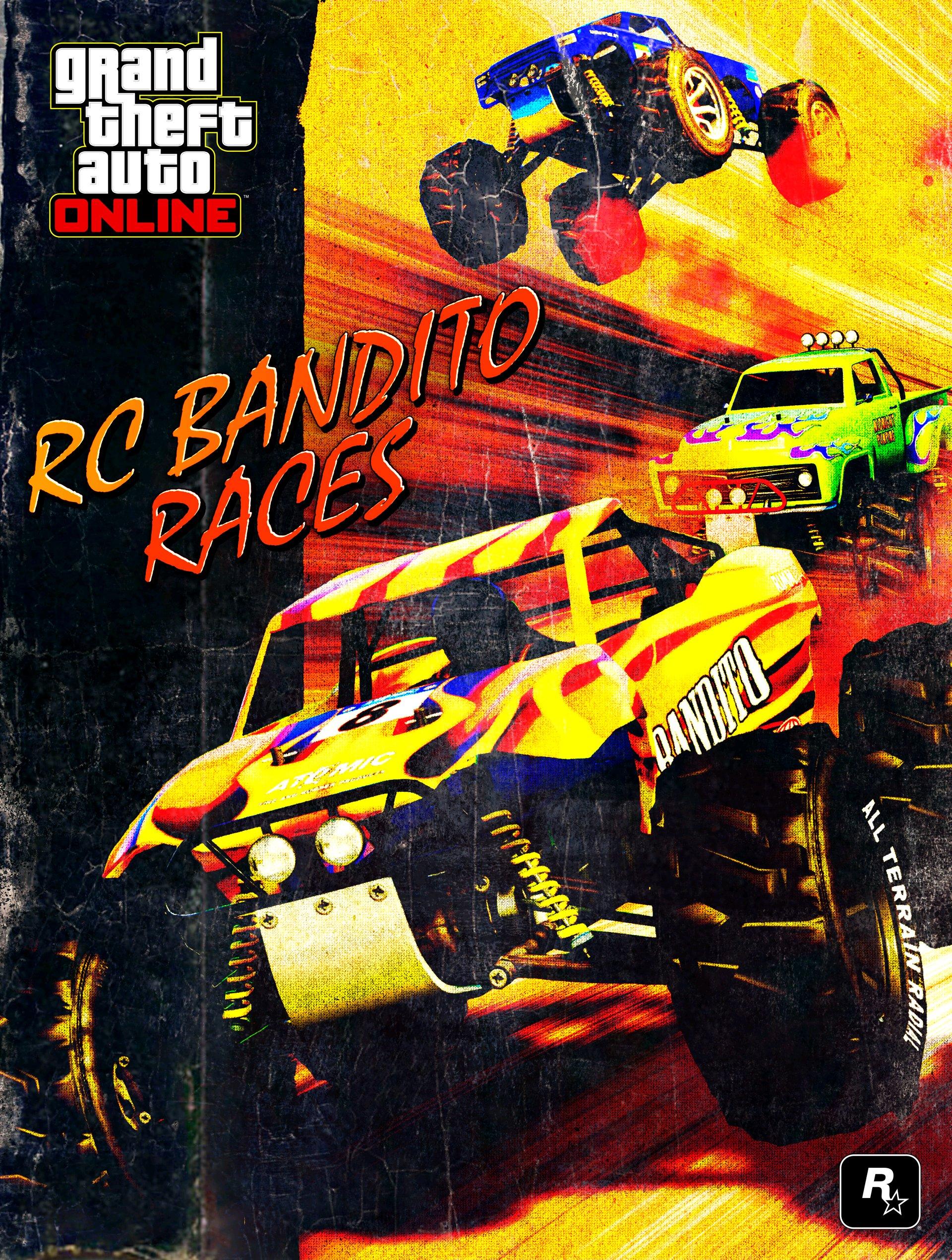 《侠盗猎车OL》迎来更新 加入全新RC越野车和竞技场