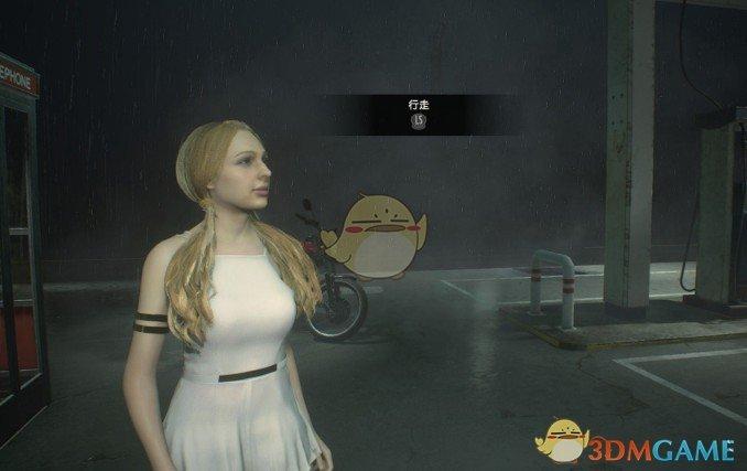 生化危机2:重制版 市长女儿替换克莱尔纯黑服装MOD