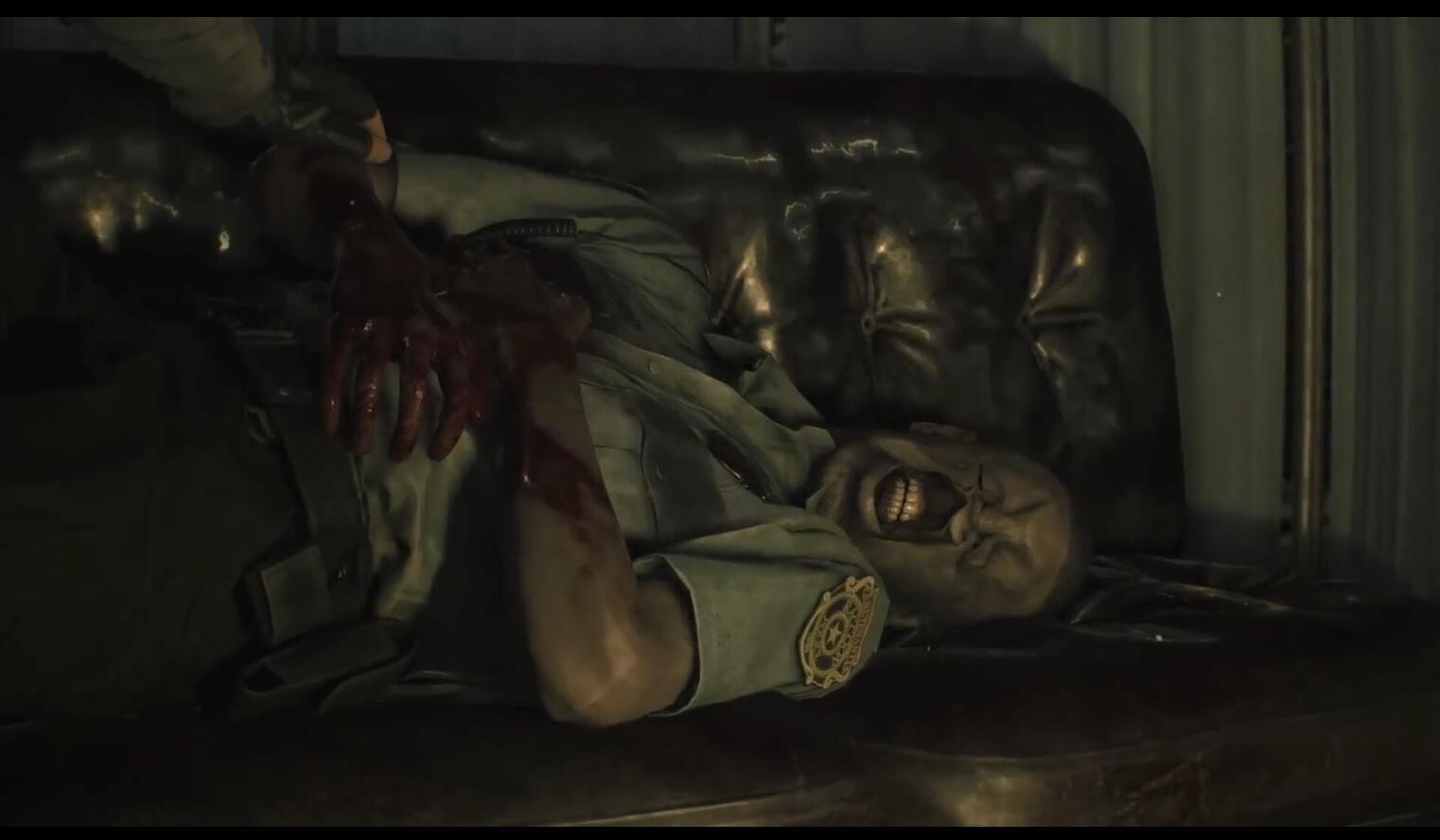 崩坏里昂 肢体动作500%的恶搞版《生化危机2:重制》