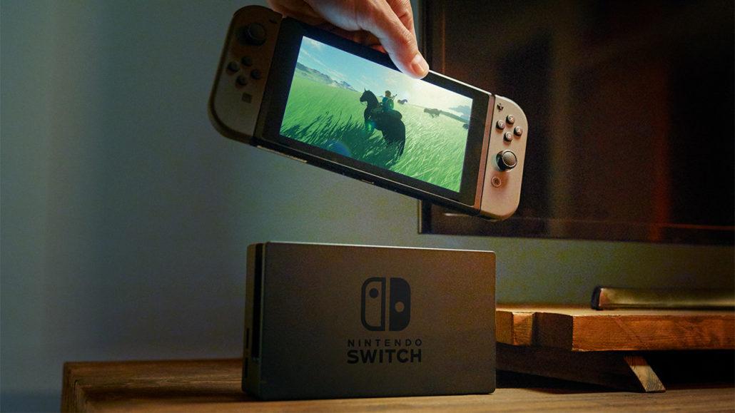 未公布Switch游戏将于4月前发售 任天堂将推出新的在线服务