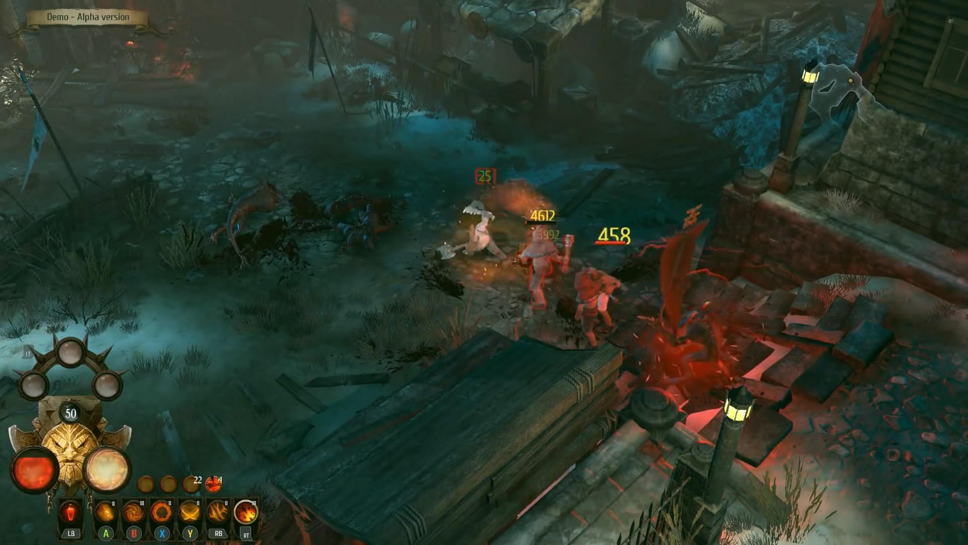 暗黑类ARPG《战锤:混沌祸根》 矮人屠夫试玩演示