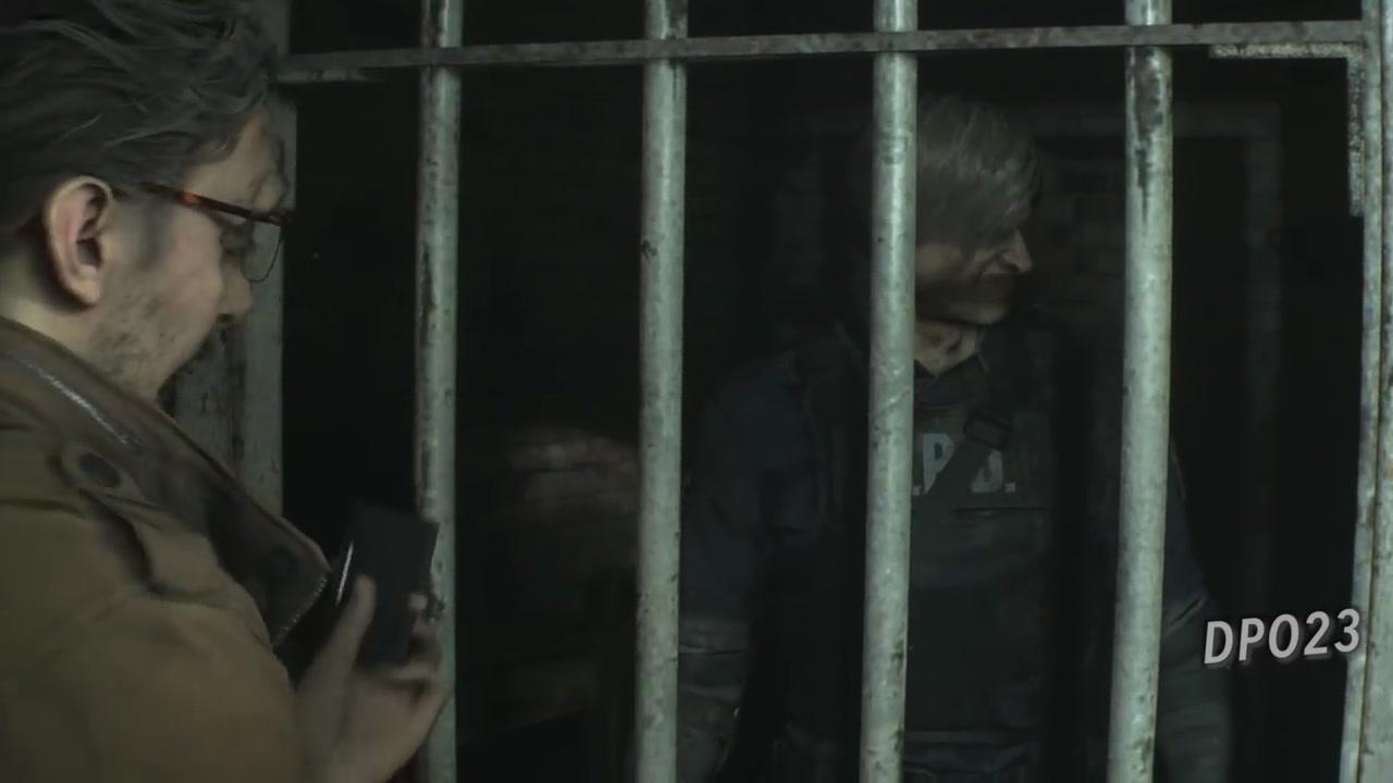 《生化危机2:重制版》500%夸张化面部动画视频展示