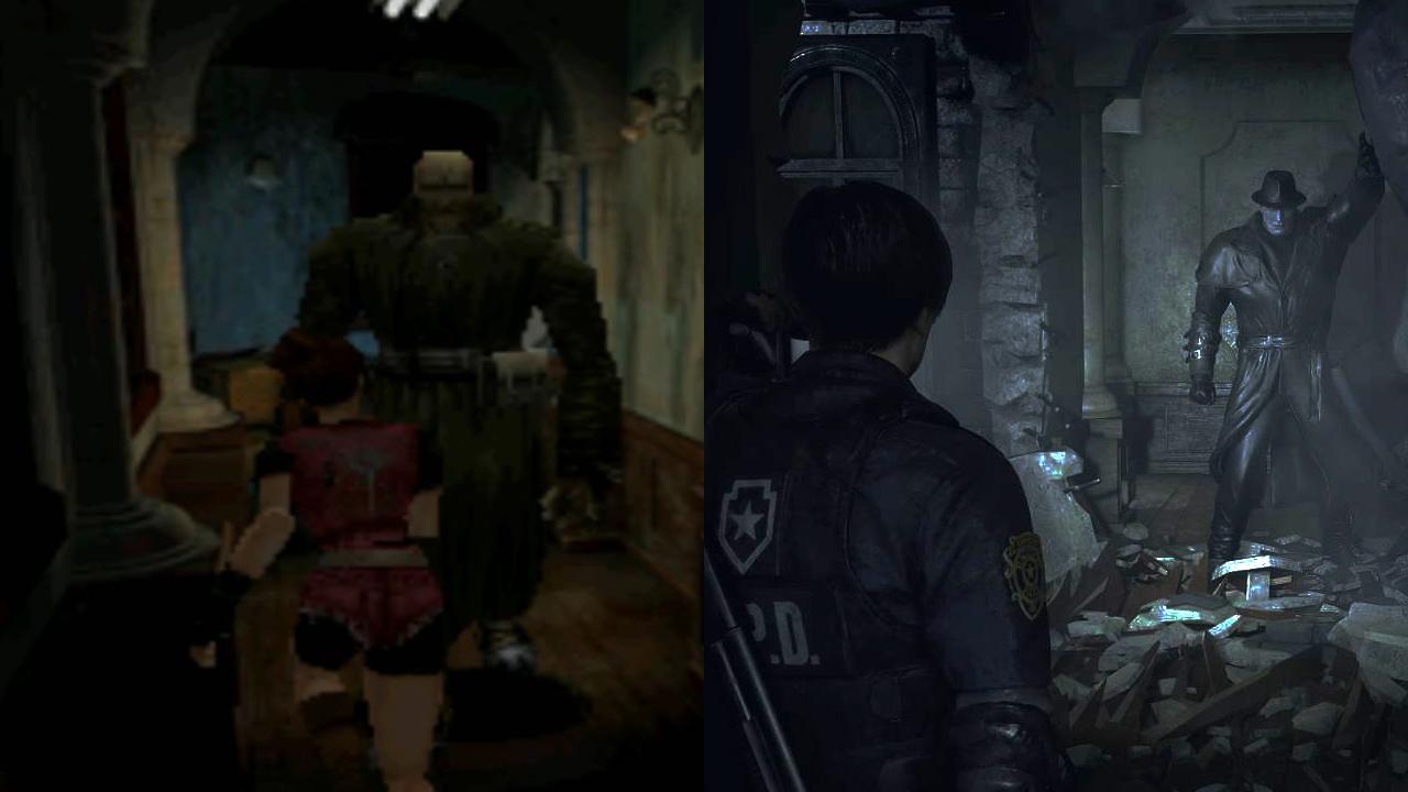 《生化危机2:重制版》对比原版 20年后里昂没羞没臊