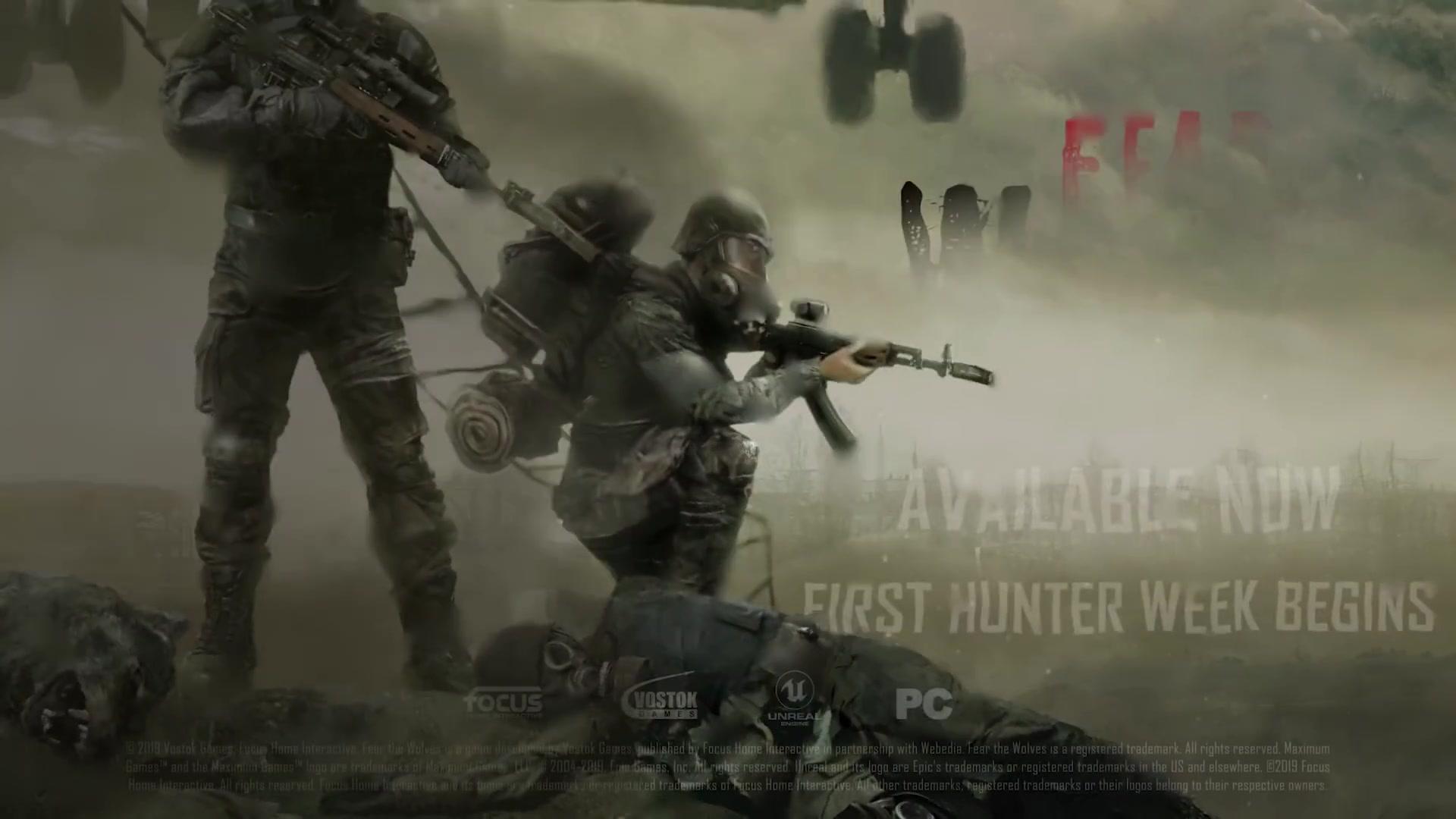 大逃杀新作《恐惧狼群》升级正式版 周末免费试玩