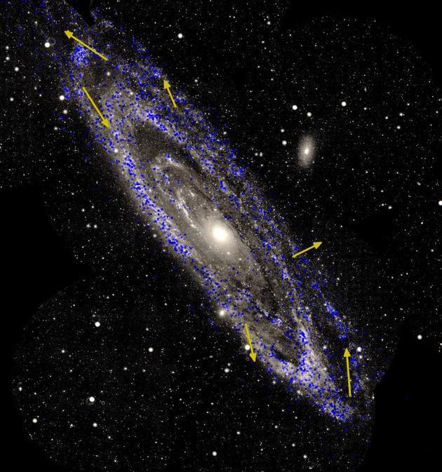 国外最新研究:45亿年后银河系将与仙女座星系碰撞