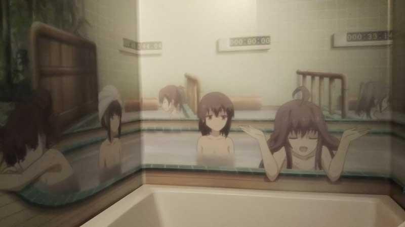 舰娘围观洗澡感觉相当好! 御宅玩家晒与众萝莉混浴痛浴室
