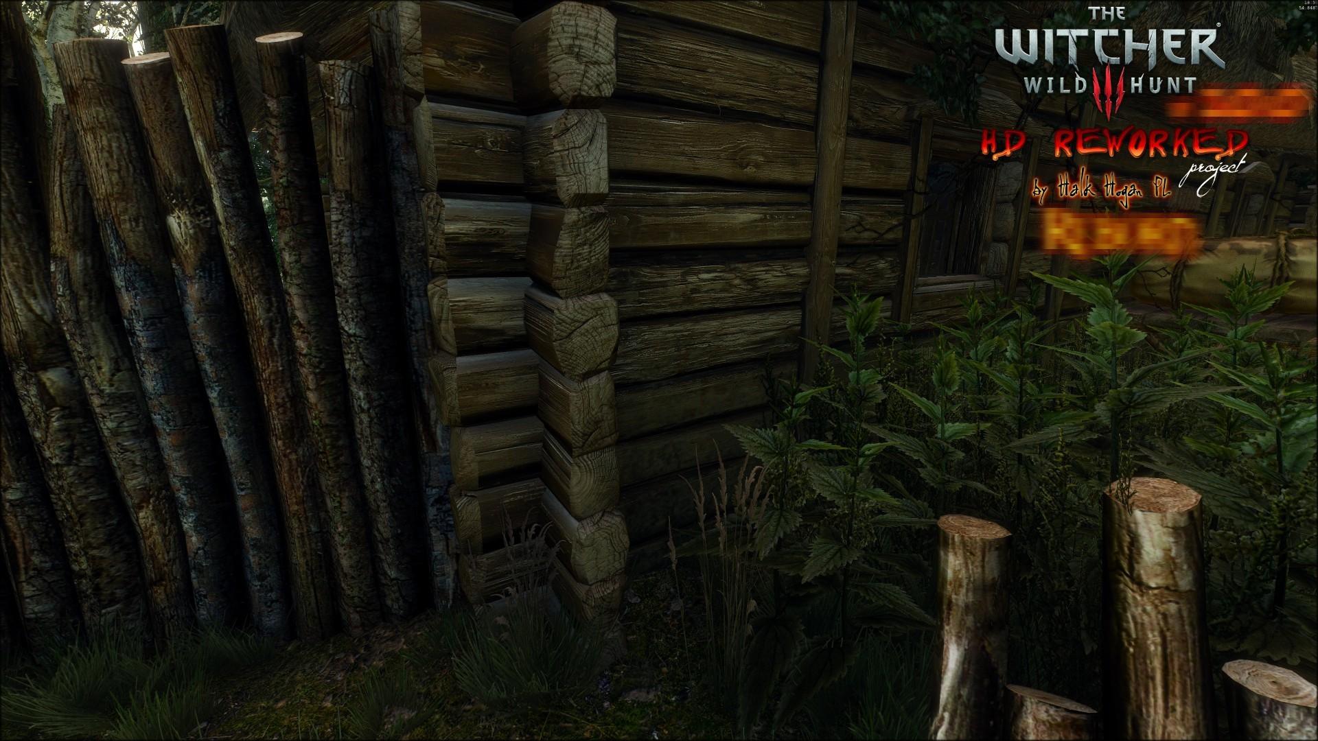 《巫师3》高清材质MOD对比截图 确定不是重制版?