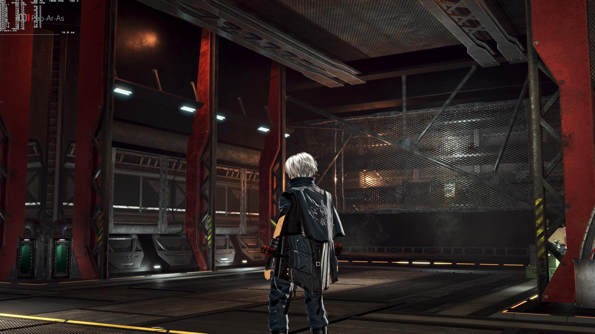 《噬神者3》PC版性能截图 4K最高画质2080Ti无压力