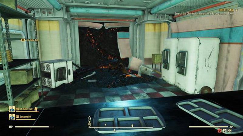 《辐射76》玩家进入未开放的避难所 被B社封号悲剧了