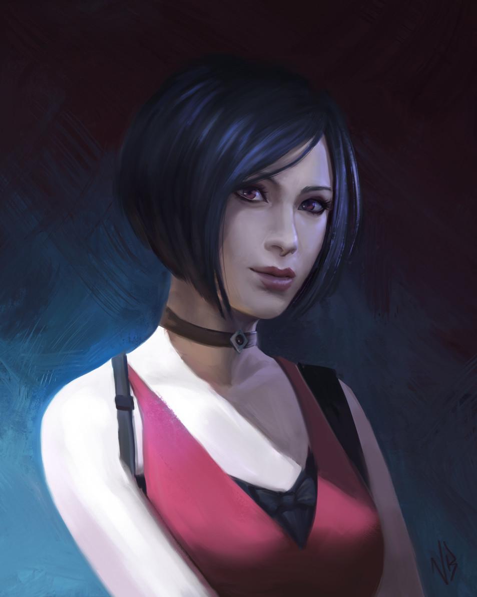 《生化危机》艾达王粉丝艺术画 玩家心目中的性感御姐