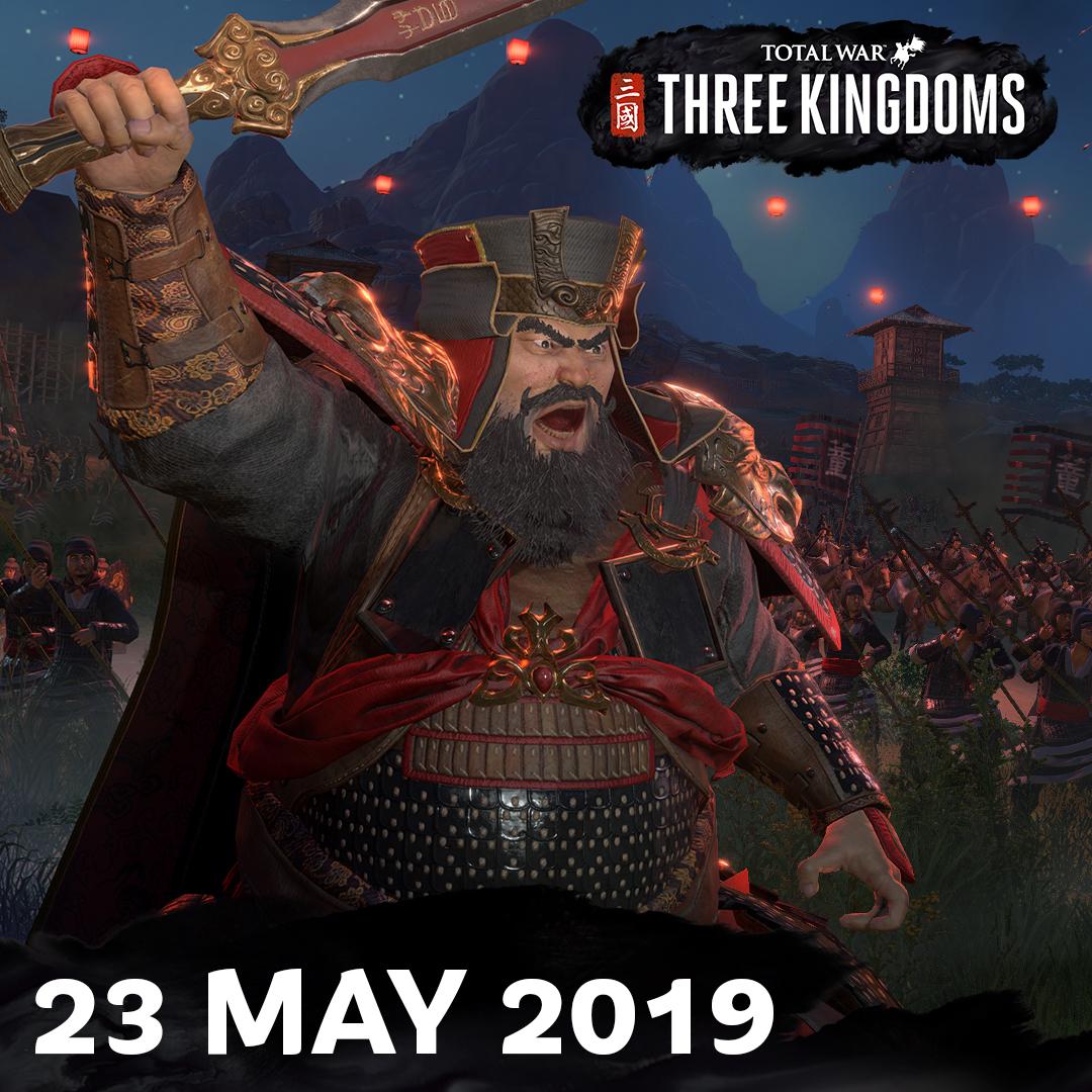 《全面战争:三国》再次跳票!改为5月23日发售