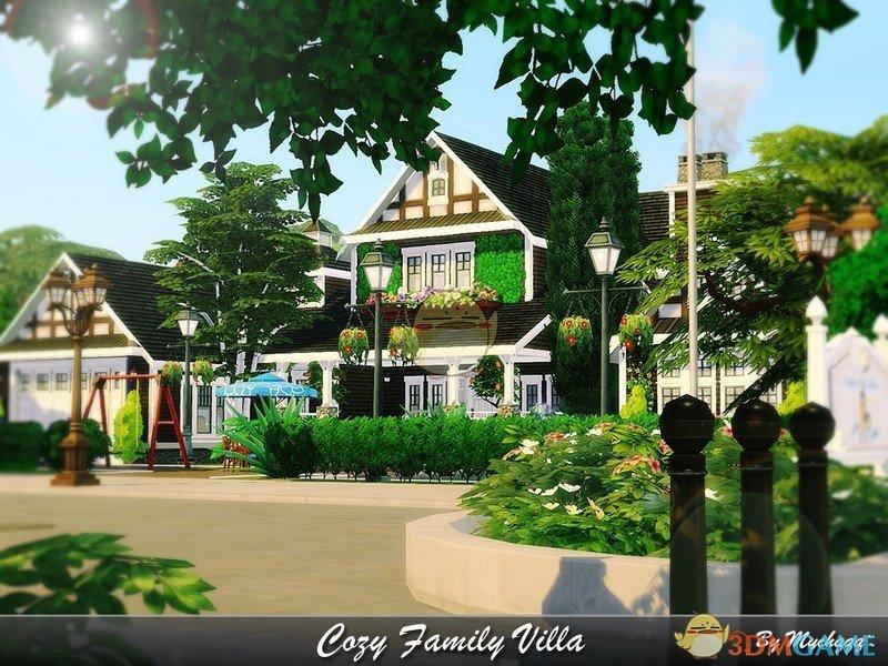 《模拟人生4》家庭温馨住宅MOD