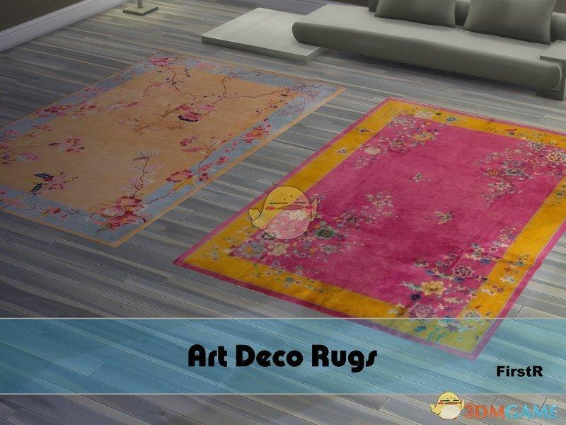 《模拟人生4》艺术装饰地毯MOD