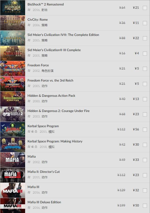 多款经典必玩老游戏4元起!GOG本周2K游戏折扣促销