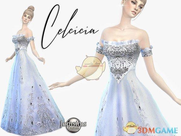 《模拟人生4》奢华公主礼服MOD