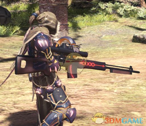 《怪物猎人:世界》FGO骑黑呆宝具狙击枪MOD