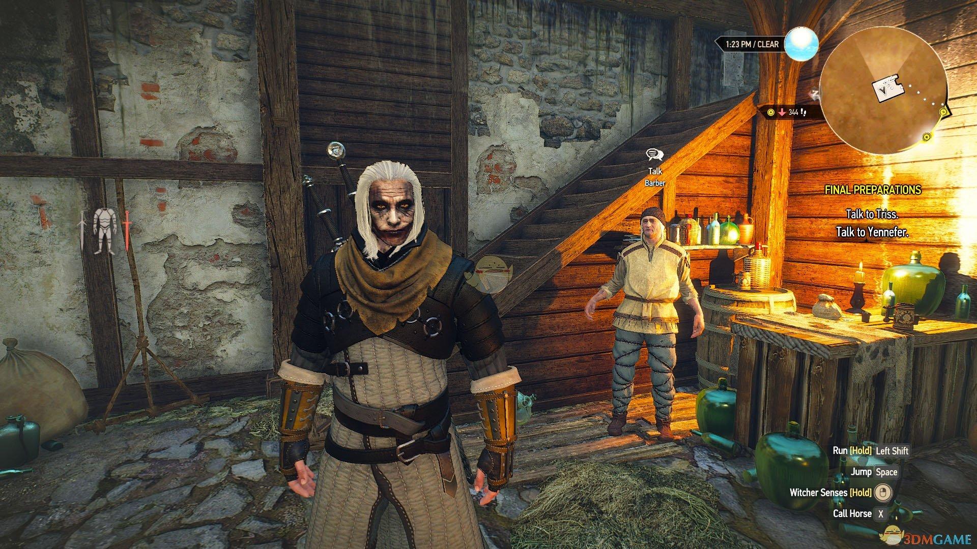 《巫师3:狂猎》小丑涂装杰洛特MOD