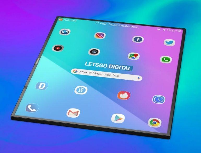 小米双折叠手机高清渲染图曝光 手机和平板合二为一